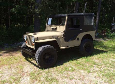 1951 willys jeep value 1951 jeep willys cj3a for sale willys cj3a utility 1951