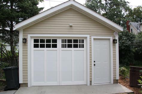 one car garage affordable detached garage builder single car garages