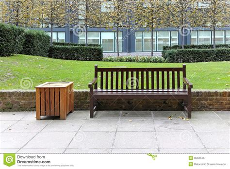 bench city bench in park stock image image of pavement cultivated