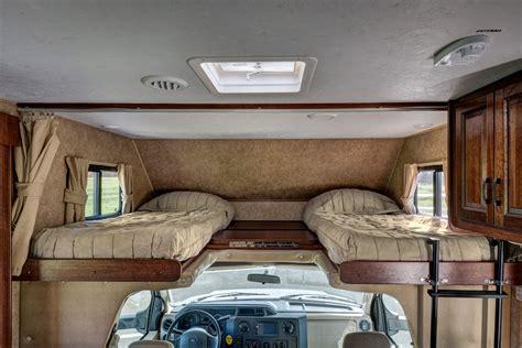 Camper Floor Plans With Bunk Beds maxi motorhome mha ameridream