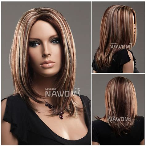 hairstyles for long straight hair with highlights red brown and blonde highlights browse medium length