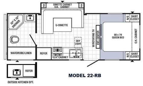park model travel trailer floor plans new 2014 palomino puma 22 rb travel trailer at fun town rv