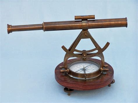 wholesale boutique copper brass collectable handwork get buy antique brass alidade compass 14 inch wholesale nautical