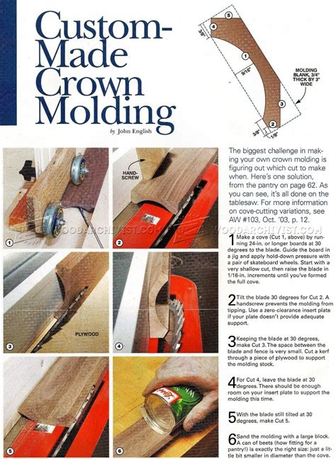 table saw moulding table saw crown molding woodarchivist