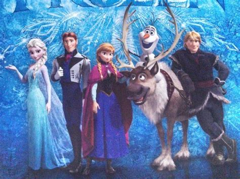 frozen cast wallpaper elsa the snow queen images elsa with the frozen cast of