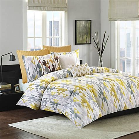 ivy comforter set ink ivy sierra comforter set bed bath beyond