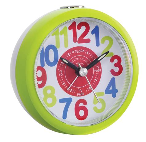clock company childrens tell the time bright sweep alarm clock ebay
