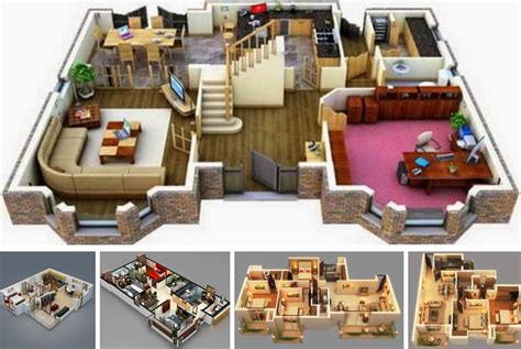 expert home design 3d 5 0 download 20 stylish modern home 3d floor plans decor units