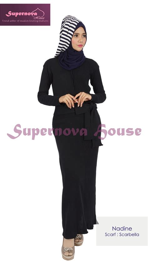 Gamis Hitam Magnolia Dress Gamis Magnolia Car Interior Design