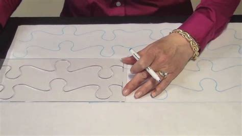 June Tailor Continuous Line Quilting Guides   YouTube