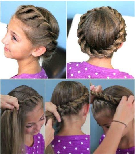 cute girl hairstyles rope braid how to do cute crown rope twist hair braid updo hairstyles