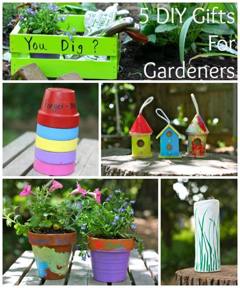 Present Ideas For Gardeners 5 Diy Gift Ideas For Gardeners Inner Child