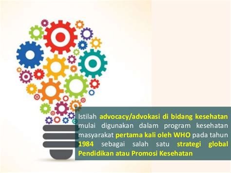 Promosi Kesehatan Global By Sukidjo Notoatmojo modul iii kb1 advokasi dalam promosi kesehatan
