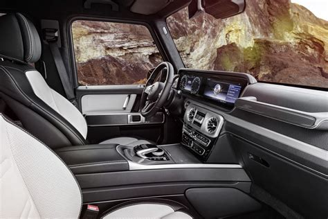 Mercedes G Class Interior by 2019 Mercedes G Class Interior Officially Revealed