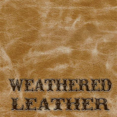 Weathered Leather by Weathered Leather 90cm Wide Emerald Coatings