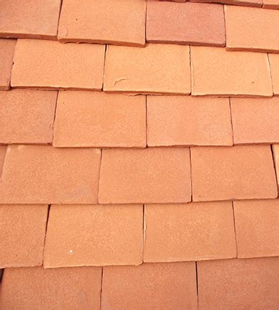 Handmade Clay Roof Tiles - orange handmade clay roof tiles lifestiles