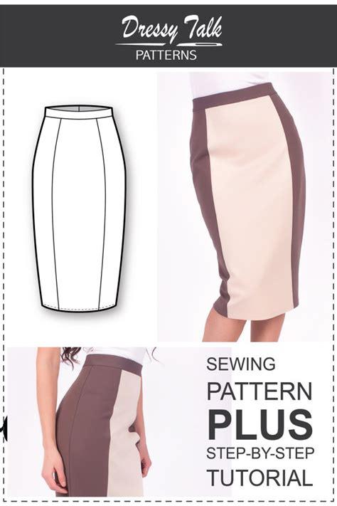 Bigsize Midi Flare Skirt Berkualitas skirt patterns sewing tutorials pencil skirt pattern