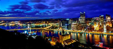 pittsburgh lights pittsburgh city lights photograph by frank d slovenec