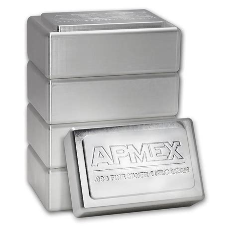 1 Kilo Silver Bar by 1 Kilo Silver Bar Apmex Stackable Ira Approved Kilo