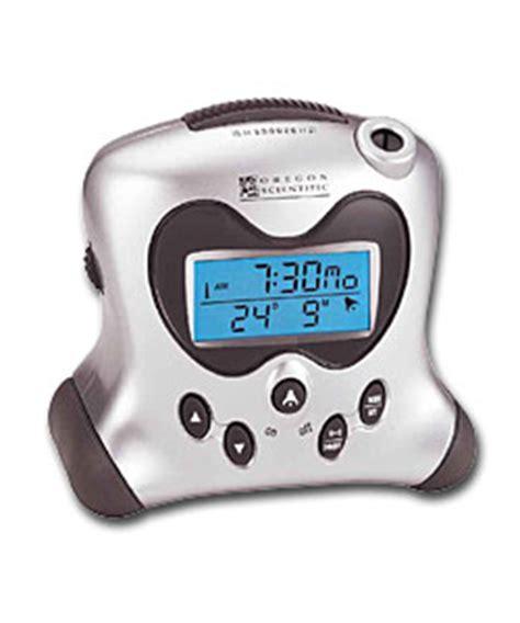 oregon scientific alarm clock