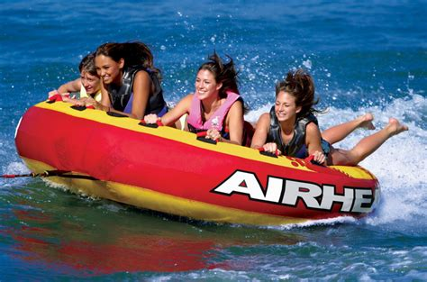 4 person boat tube mega slice 100 quot 4 person boat deck tube airhead ahssl 4