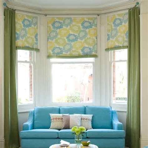 bay window curtain ideas how to dress a bay window