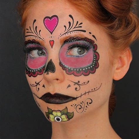 temporary face tattoos halloween 17 best ideas about skull on skull