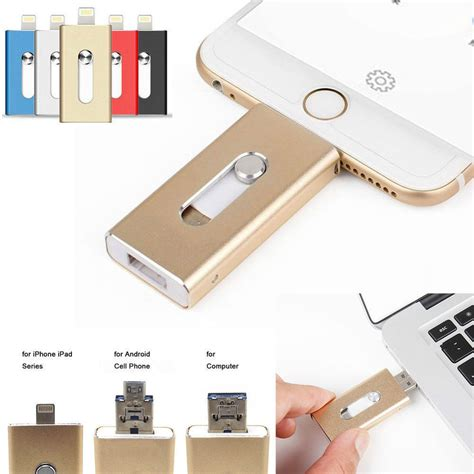 Iphone Jump Drive 128gb 64gb New Otg Dual Usb Memory I Flash Drive U Disk For Ios Iphone Pc Ebay