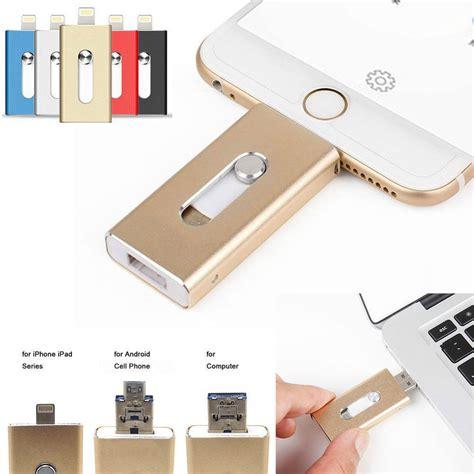 iphone jump drive 128gb 64gb new otg dual usb memory i flash drive u disk for ios iphone pc ebay