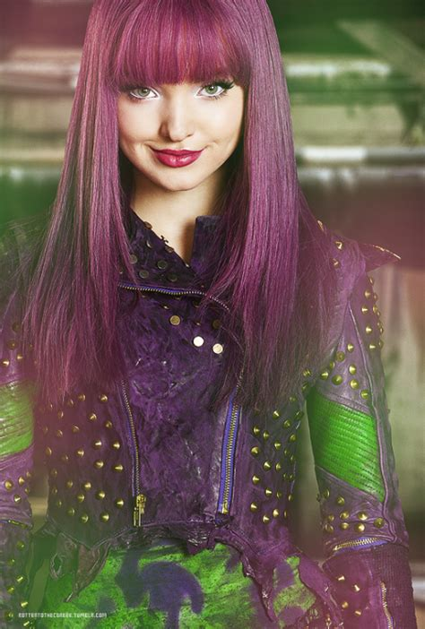 mal hair disney descendants mal tumblr
