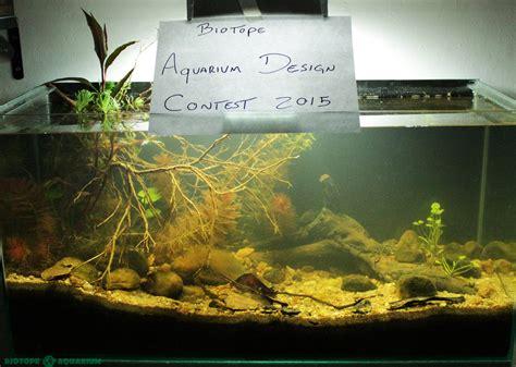 aquarium design criteria biotope aquarium design contest 2016 rules biotope aquarium