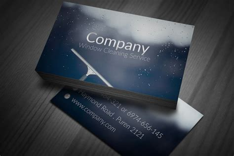 window cleaning business card templates 130 best free psd business card templates techclient