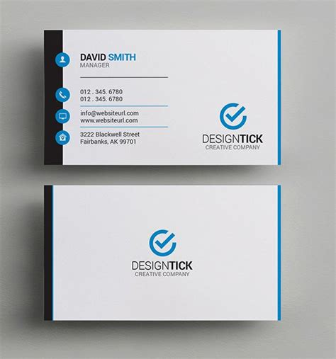 how to make a simple business card simple clean business card business cards design