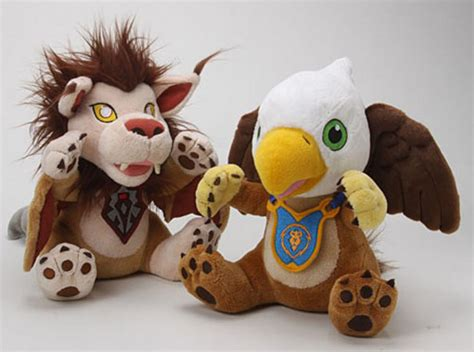 Cuddly Gadget Up by World Of Warcraft Plushies Make Wind Riders Look Cuddly