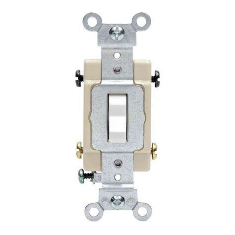 4 switches one light leviton decora 15 amp single pole dual switch white r62