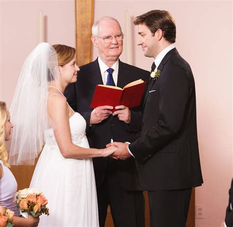 The Office Wedding by Pam Beesly Jim Halpert Wedding Site Gallery The
