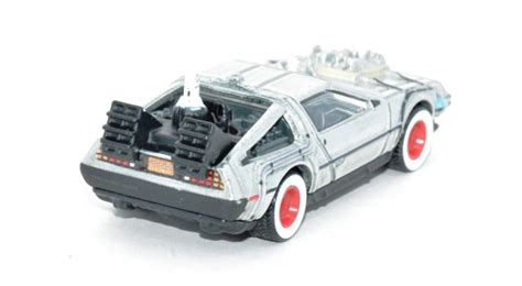 Hotwheels 1 64 Retro Back To The Future Time Machine Hover Mode 1 wheels retro 1955 back to the future cars