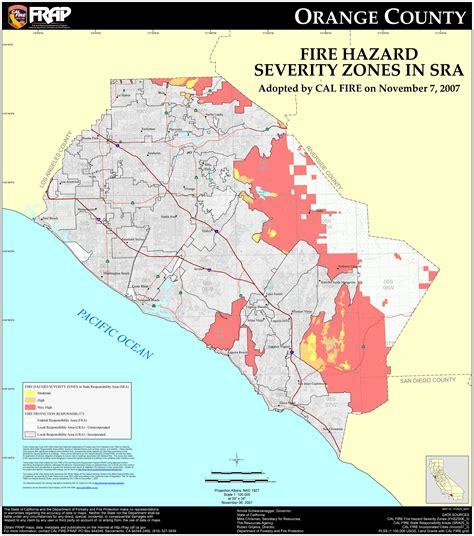 map of california orange county orange county california zip code map california map