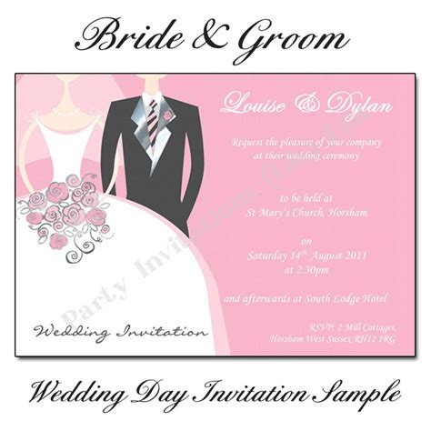 wedding invitation from groom s and groom wedding invitations buy now