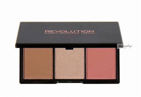 6 Warna Eye Shadow Blush Flush Matte Cosmetics 16 Warm Color Eye makeup revolution iconic blush bronze brighten