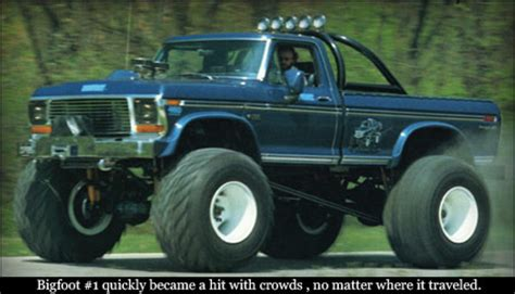 first bigfoot monster truck the original bigfoot monster truck 1a auto blog