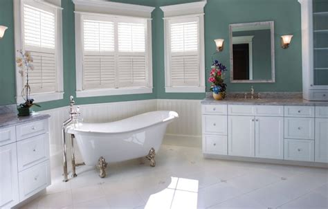 plantation shutters in bathroom bathroom shutter benefits eclipse shutters