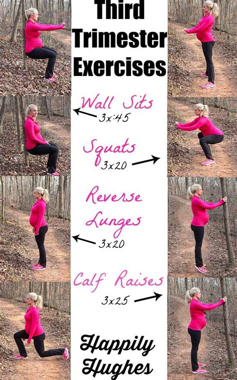 Third Trimester Detox by Why Not Give A Go My Third Trimester Exercises Prenatal