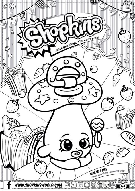 coloring pages of baby shopkins shopkins colour color page dum mee mee shopkinsworld