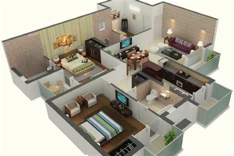 home design 3d 2 bhk 3d house plans in 1000 sq ft escortsea