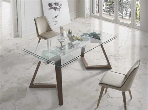 mesa comedor cristal extensible mesa de comedor cristal extensible nil