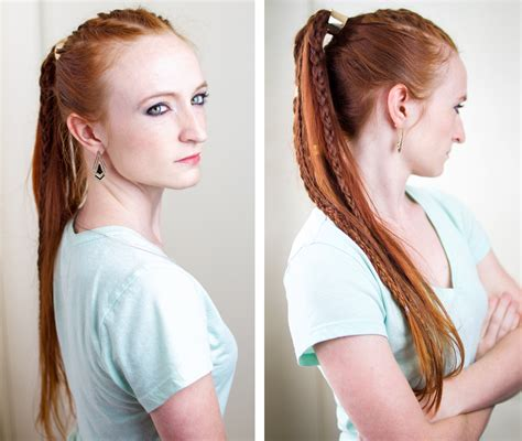 The Hairstyles by Silvousplaits Hairstyling Torvi The Shieldmaiden