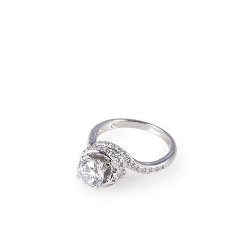 anelli pave anello solitario con pav 232 ultima edizione