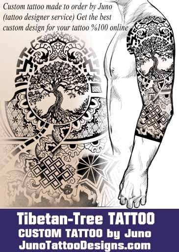 Tattoo Template Creator | tibetan tattoo tree of life tattoo tattoo template