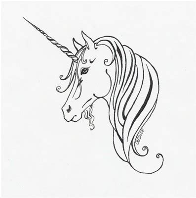 easy unicorn tattoo unicorn tattoo design by haawan on deviantart